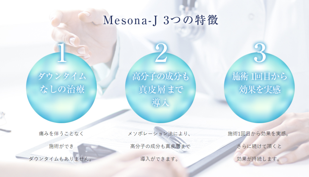 Mesona-J 3つの特徴
